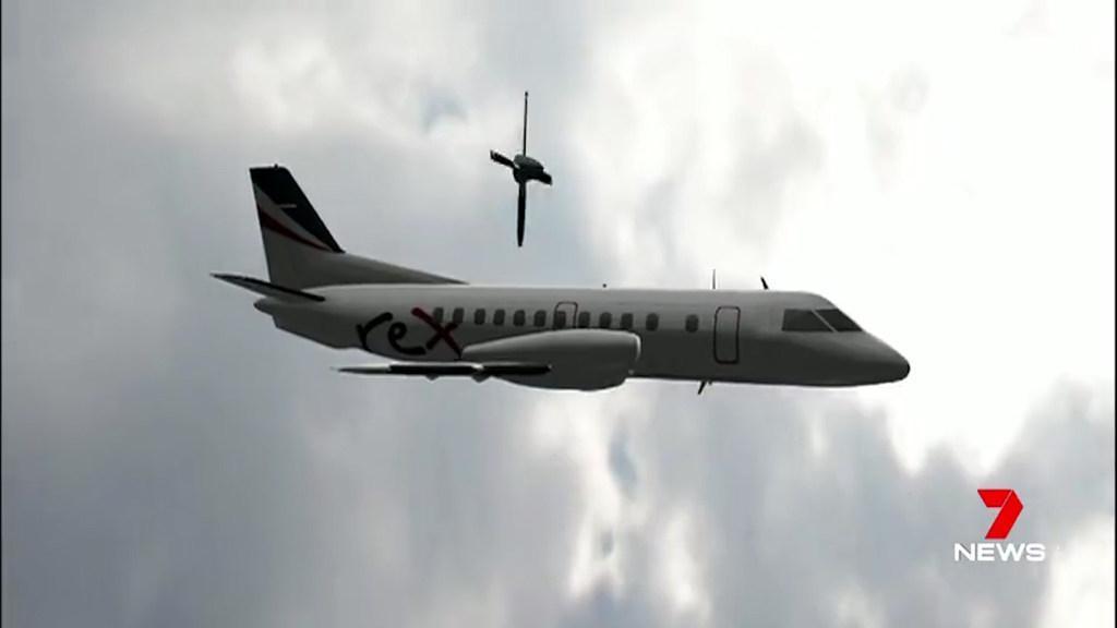 Rex flight lands safely after propeller falls off mid-flight