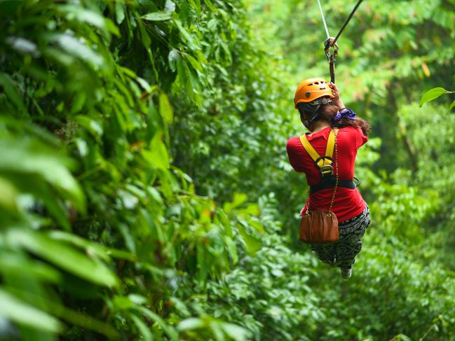ZIP LINING If adventure is more you're thing, Fiji has it in spades. Zip lining will see you tear through the heights of lush rainforest to beaches below. Zip Fiji has 5km of spectacular zip lines that will take you through caves, canyons and mountaintops — just enough to get your adrenaline pumping.