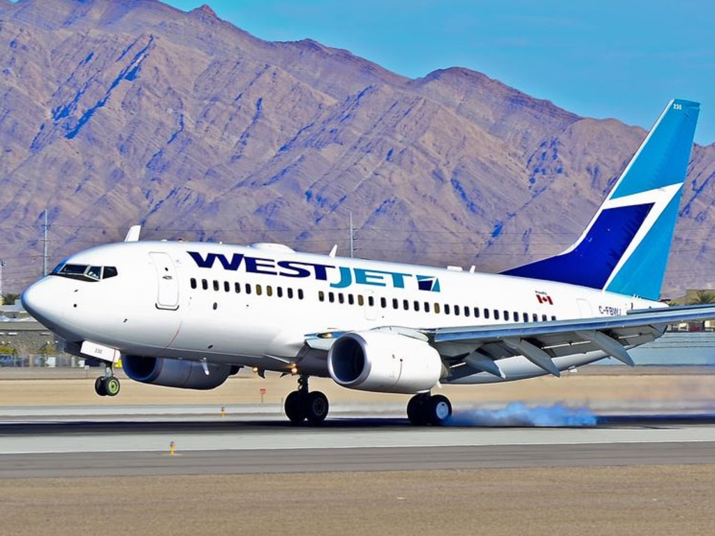 Young was ordered by the court to cover the cost of the fuel WestJet had to dump before landing. File image. Picture: Tomas Del Coro