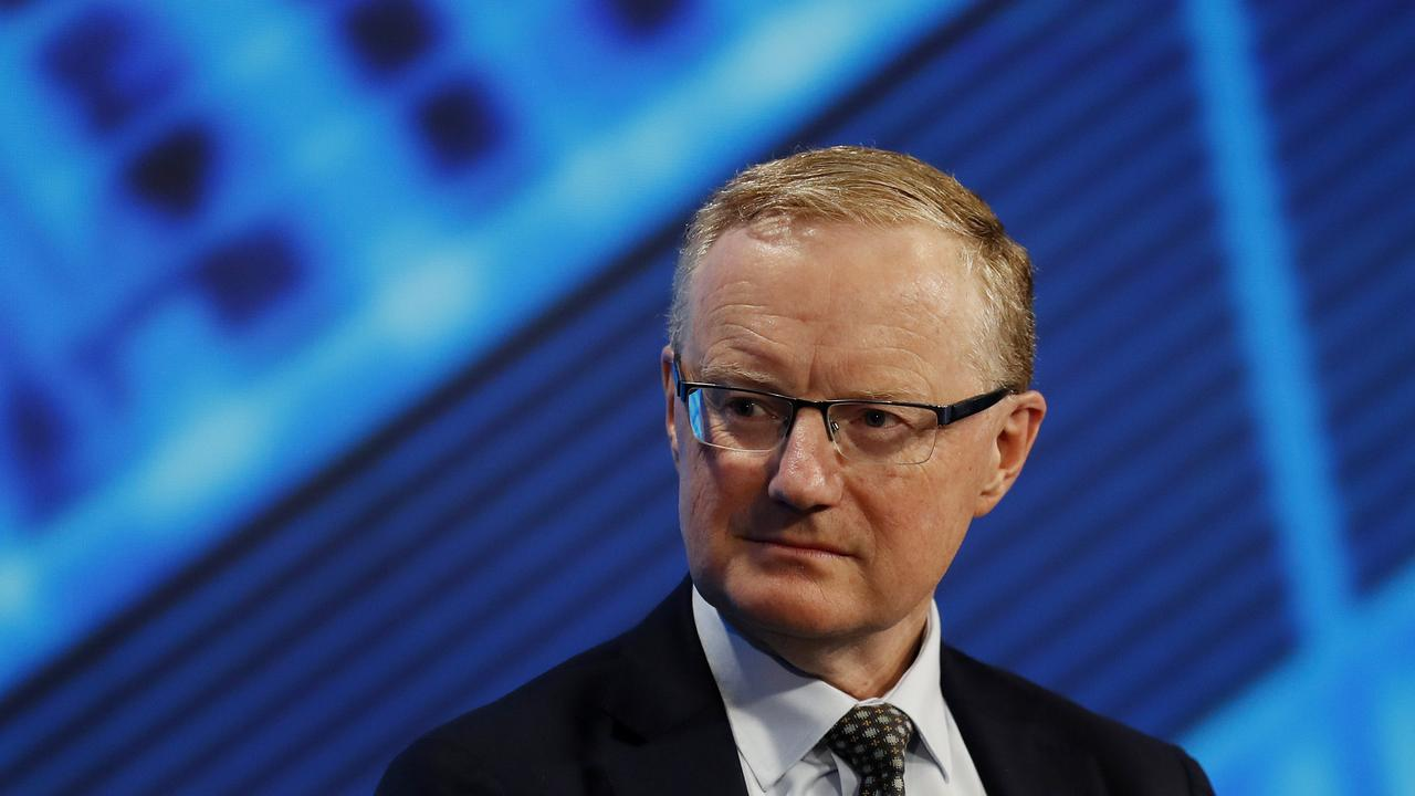"""RBA Governor Philip Lowe said a return to normal economic measures are """"still some way off"""". Picture: Nikki Short"""