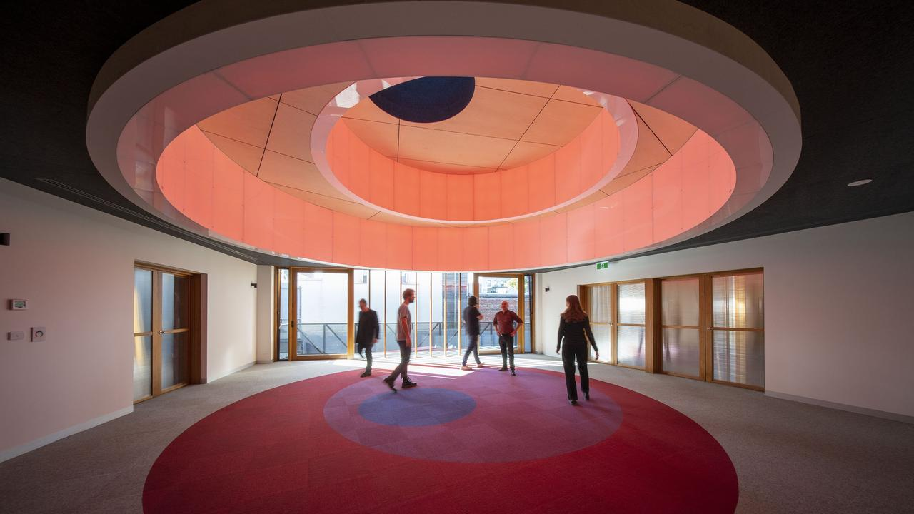 There will also be a virtual tour of Melbourne Quakers Centre. The building is a centre and symbol for the pursuit of world peace. Picture: John Gollings