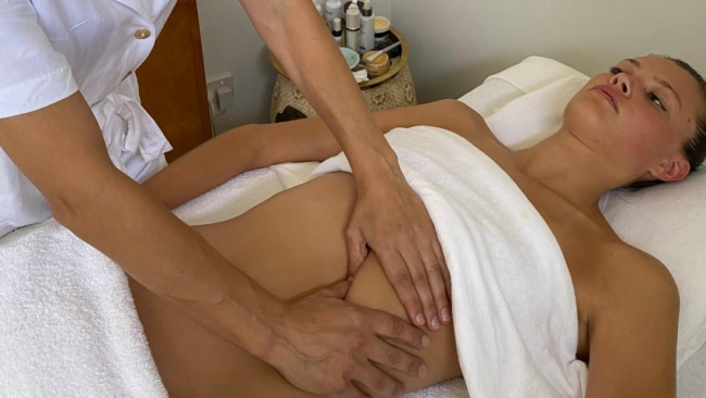 A guide to lymphatic and diaphragmatic massage. Image: To Wonderland Spa