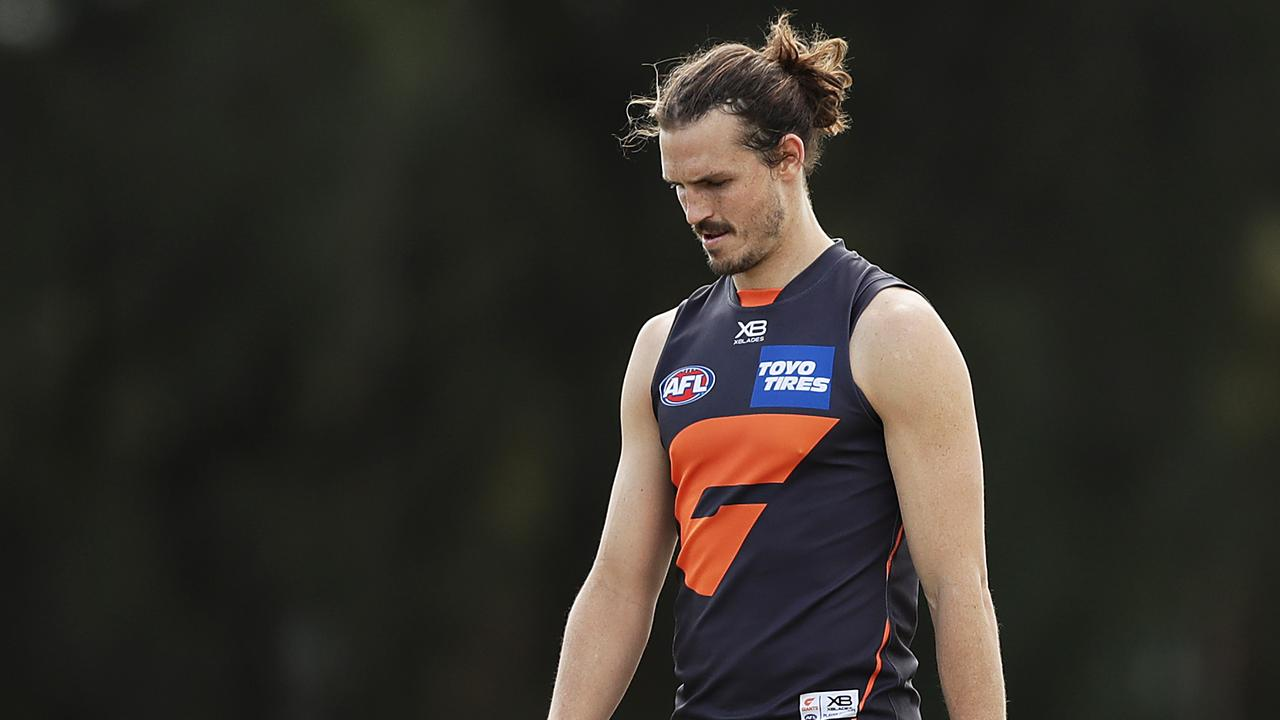 Phil Davis of the Giants has been ruled out for the rest of the season. Picture: Mark Metcalfe