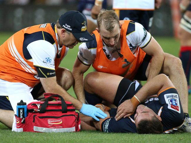 The Super Rugby casualty ward is stacked after only two rounds.