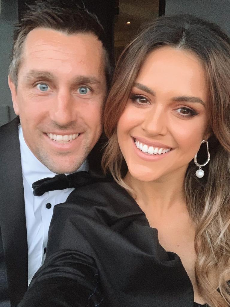 Mitchell Pearce and Kristin Scott.