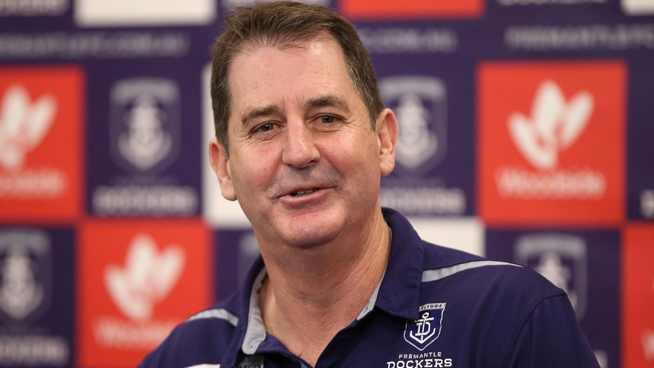 Fremantle has sacked its head coach Ross Lyon. Picture: Getty Images