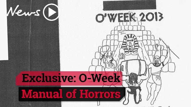 Exclusive: O-Week manual of horrors