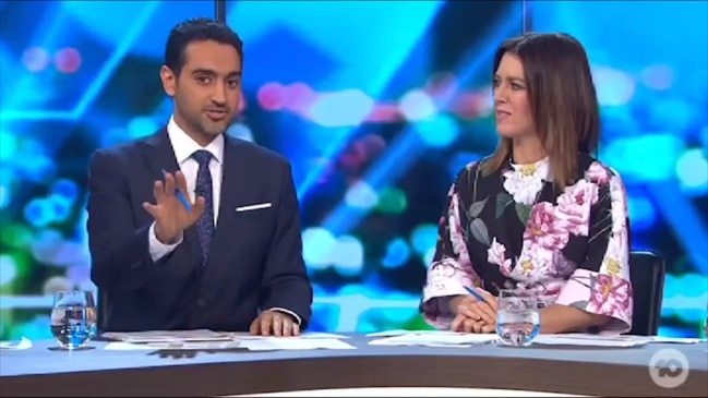 Waleed Aly recalls time he was searched