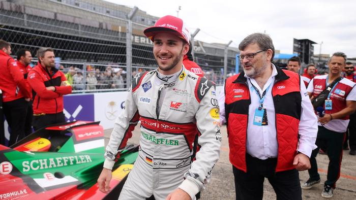 Daniel Abt was pinged for cheating.