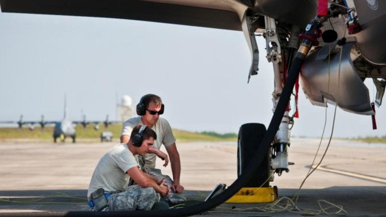 Aircraft crew check an F-35s avionics and electronics via its digital interface. Picture — Lockheed Martin.