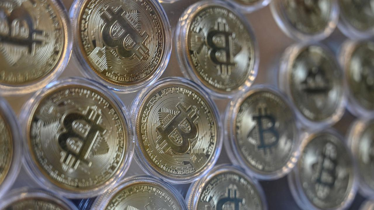 Bitcoin hasn't been worth this much since May. Picture: Ozan Kose/AFP