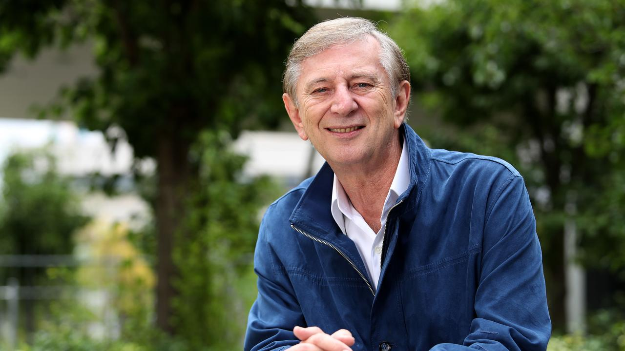 Dennis Cometti has called his final game. Photo: Colin Murty The Australian