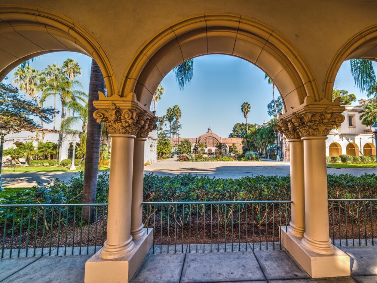 Arches in Balboa park