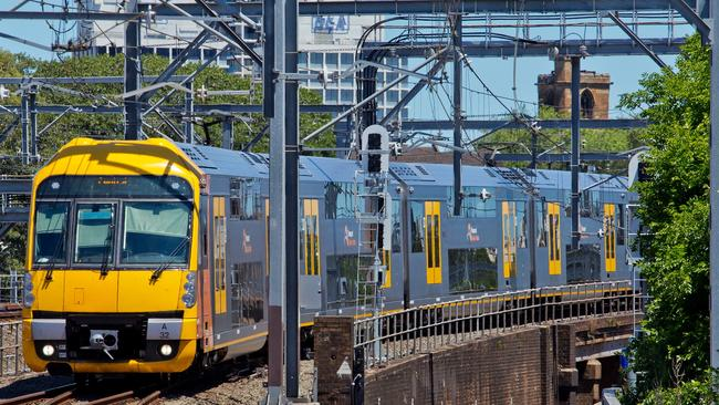 Sydney train services have been disrupted due to a power failure.