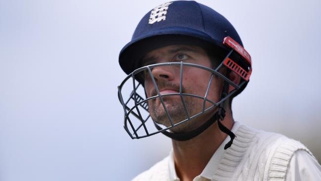Alastair Cook's career seems to be nearing a sorry end. (AAP Image/Dean Lewins)