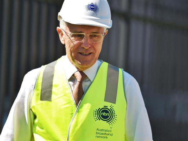 Prime Minister Malcolm Turnbull is largely responsible for the move away from a full fibre rollout. Picture: Mick Tsikas