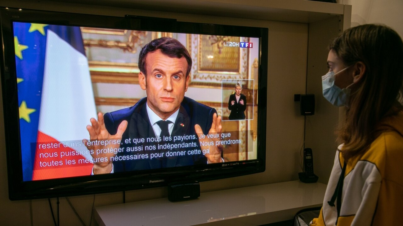 'We are at war': President Macron orders citizens stay at home amid coronavirus 'battle'