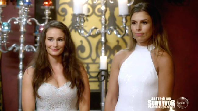 Natalie and Amiee first to go from The Bachelor