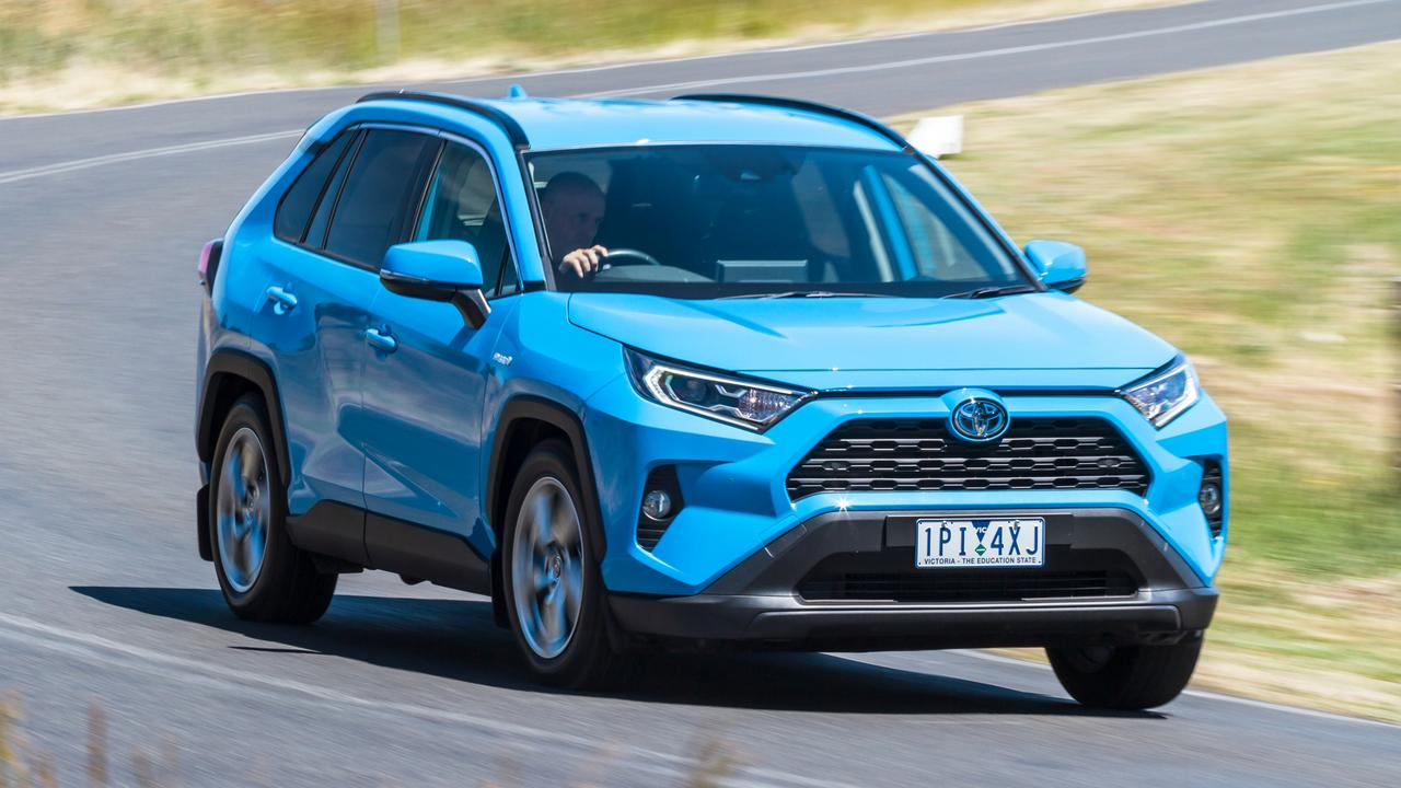 The Toyota RAV4 Hybrid is one of the most in demand new vehicles in Australia.