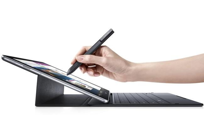 Mobile office ... Samsung's Galaxy TabPro S is a two-in-one hybrid tablet computer that now comes with a 4G option.