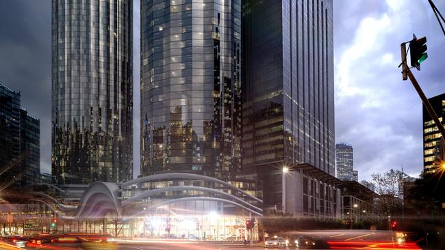 BMW's flagship Southbank site has sold for more than $100 million.
