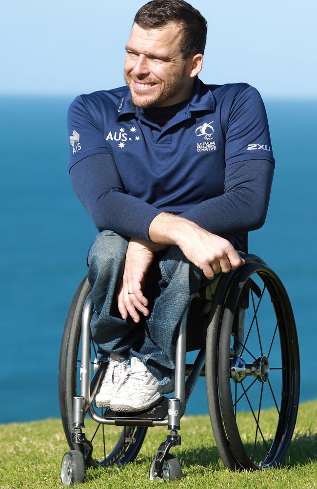 Australian team captain Kurt Fearnley.