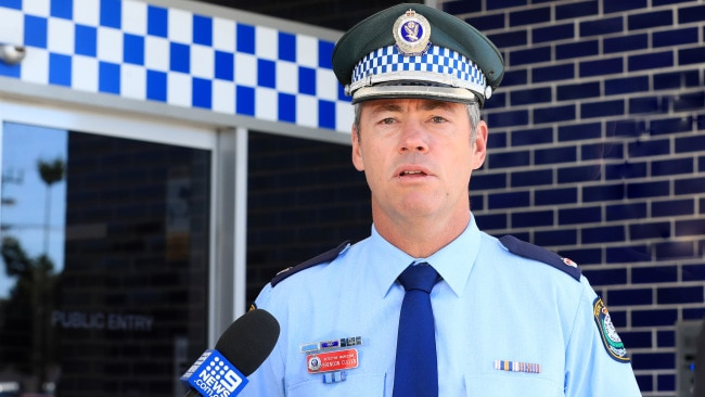 Detective Chief Inspector Brendon Cullen from the Tweed Byron Police Command has appealed to the public to help identify the mystery man. Picture: NCA
