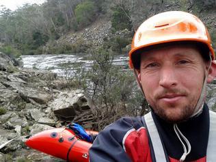 Adventurer Andrew Hughes. Picture: ANDREW HUGHES/BOOKEND TRUST