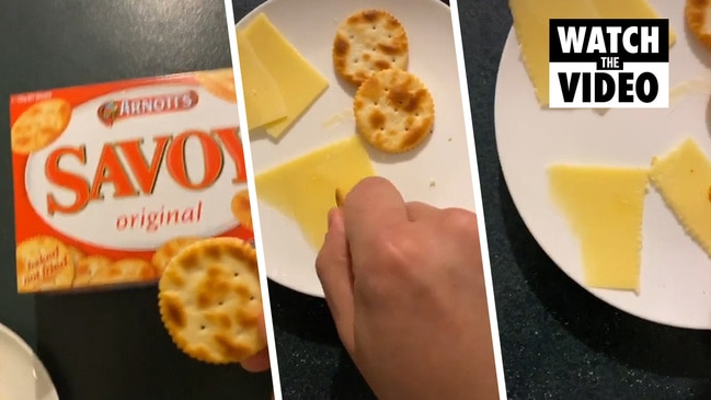 Arnott's cracker hack blowing people's minds