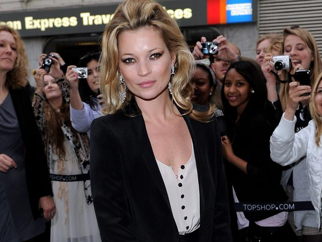 Kate Moss made Topshop cool, but Australian shoppers have switched off. Picture: Gareth Cattermole