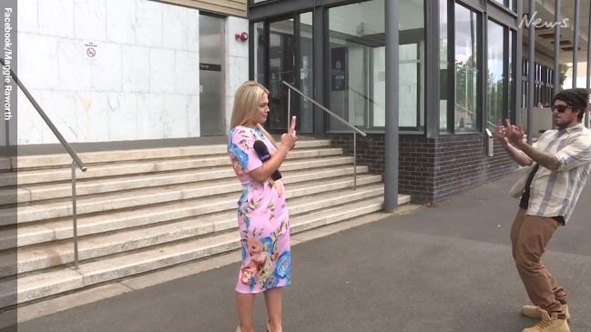 Victorian reporter Maggie Raworth abused by total stranger