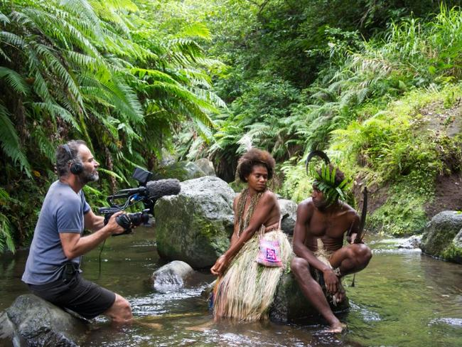 Behind the scenes of Tanna, a Romeo and Juliet-style story of forbidden love.