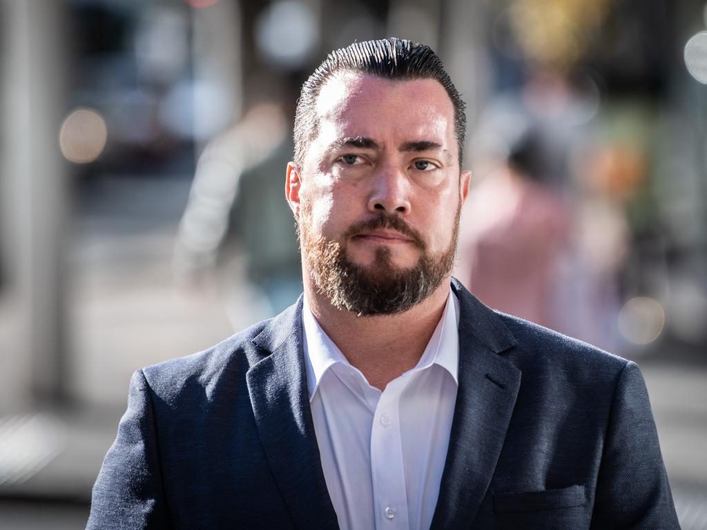 Brendan Russell is on trial for charges including manslaughter, female genital mutilation and causing grievous bodily harm. Picture: NCA NewsWire / James Gourley