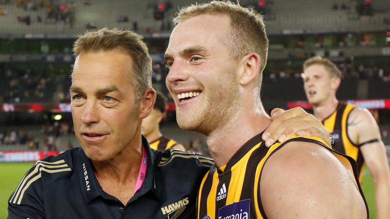 Tom Mitchell joined Hawthorn at the end of 2016 (Photo by Michael Willson/AFL Photos via Getty Images)