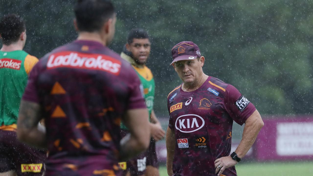 Wally Lewis reveals standout issue at Broncos training and Kevvie's 'most important challenge'
