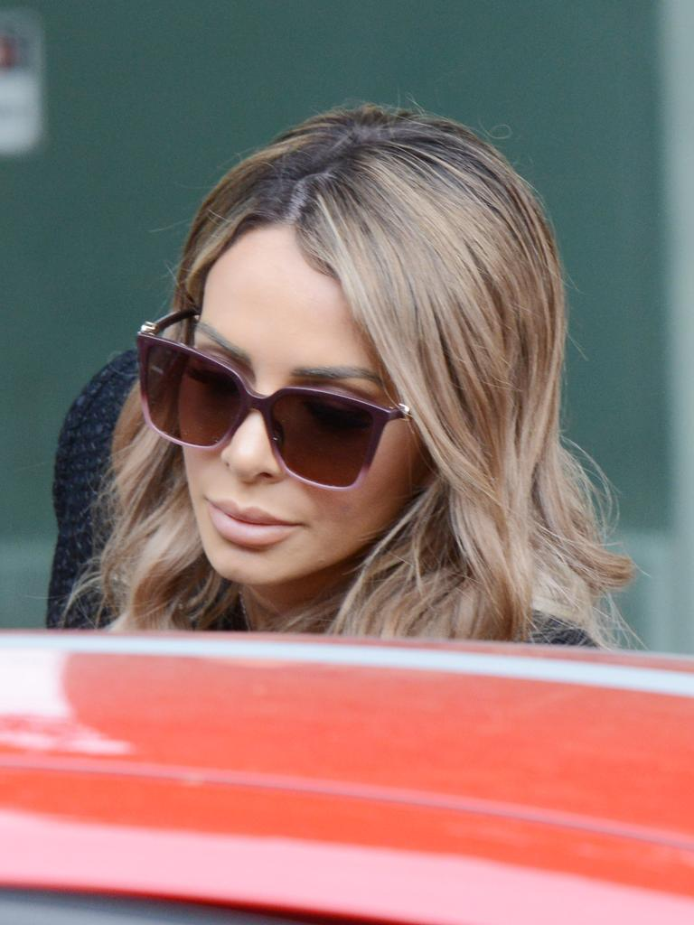 During that appearance she pleaded guilty to breaching Covid-19 directions. Picture: Brenton Edwards / NCA NewsWire