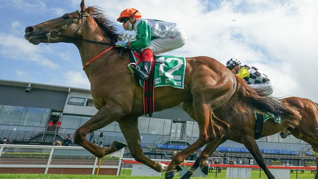 Craig Williams also enjoys heading to his home track at Cranbourne to ride winners. Picture: Racing Photos via Getty Images.