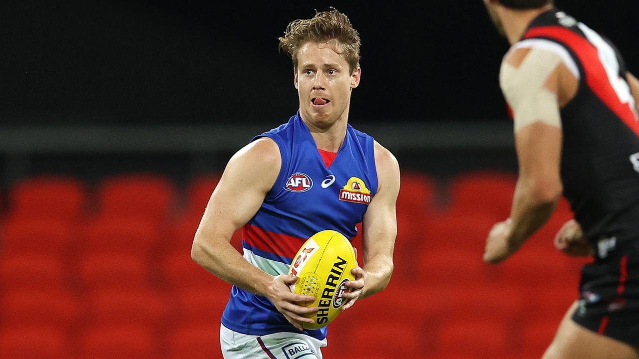 Hunter made his return from a club-imposed suspension in Round 6 (Pic: Michael Klein).