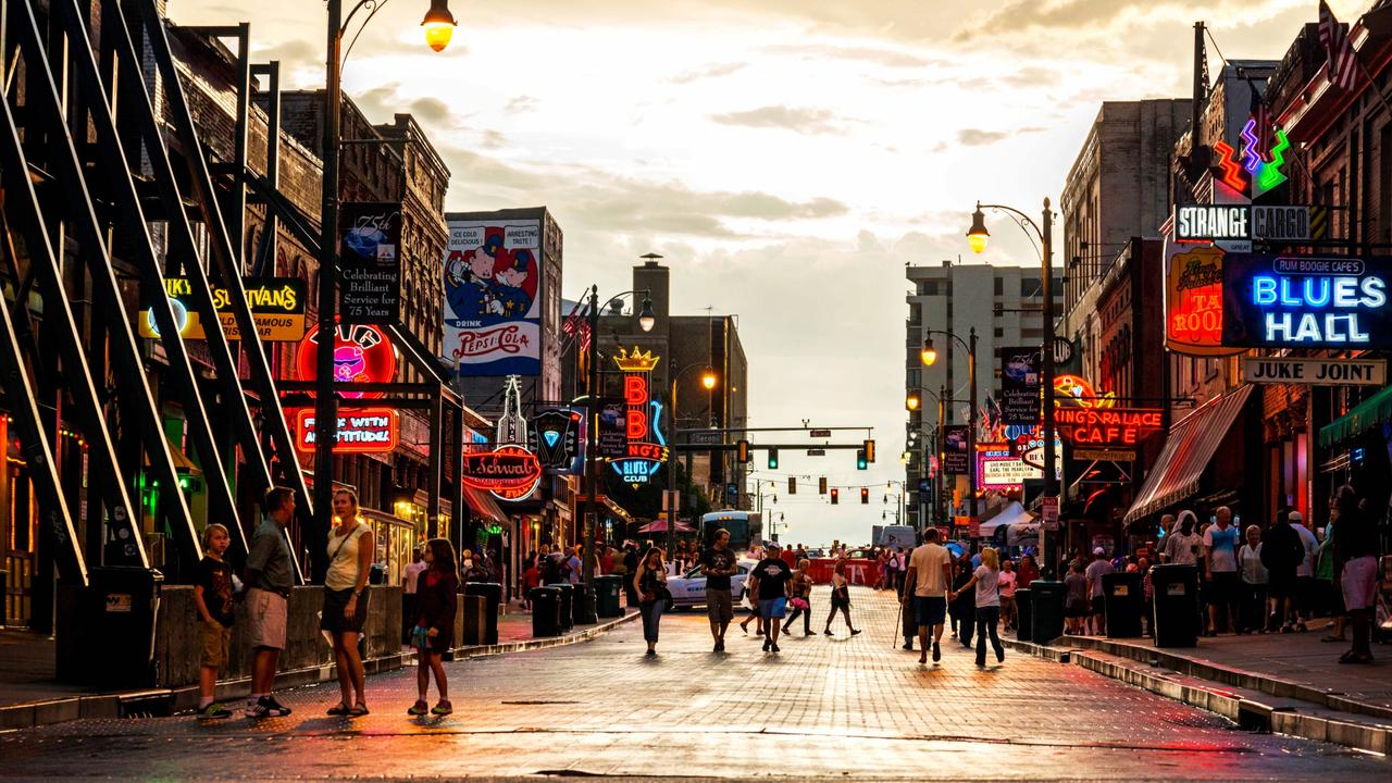 Memphis gives New Orleans a run for it's money. Picture: Phillip Van Zandt