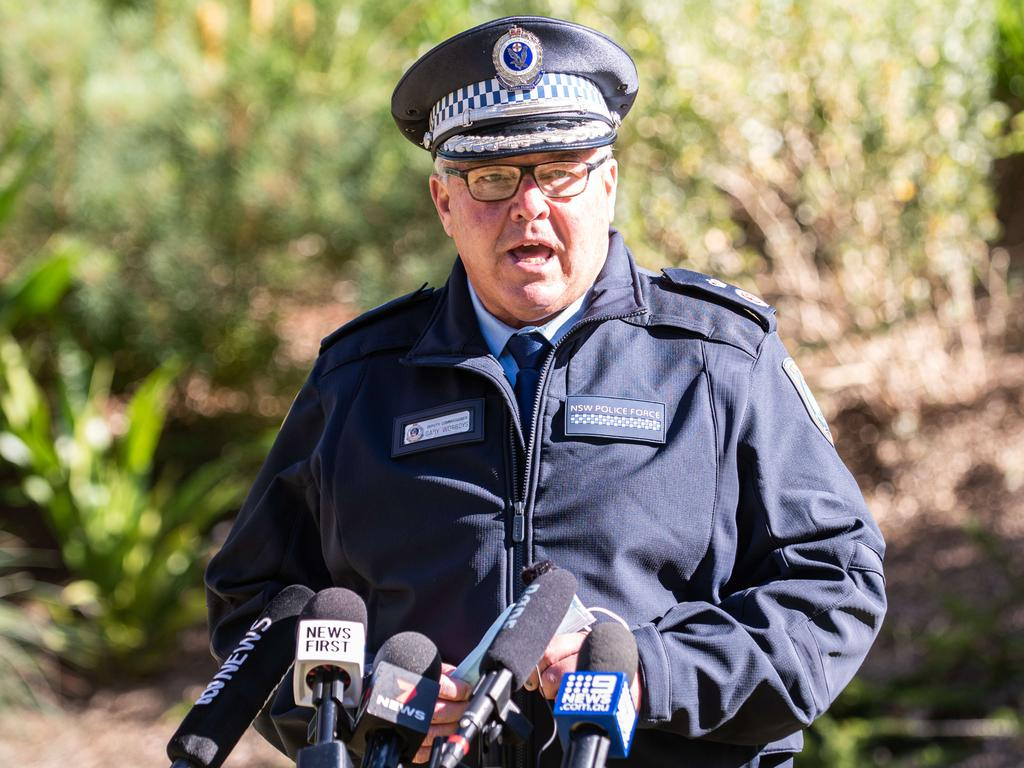NSW Police Deputy Commissioner Mark Worboys warns there are more fines to come. Picture: NCA NewsWire / Flavio Brancaleone