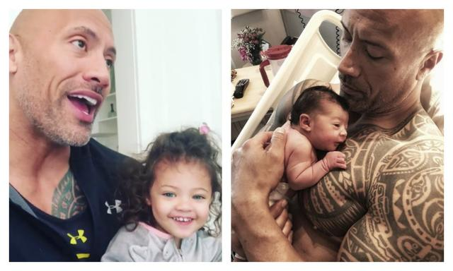 The Rock just won father of the year with this single move