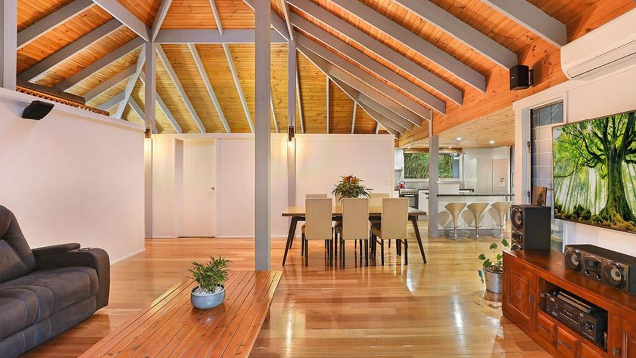 Inside the house the Veronicas have bought.