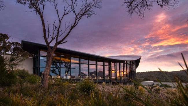 5/5TASMANIA Indulge in a getaway to Saffire Freycinet, Tasmania and save when you stay four nights but pay for three, from $6300 for two adults. Package includes breakfast, lunch and dinner daily, beverages, in-suite mini-bar replenished daily, $100 -$200 property credit and more. Travel from June 1 to September 30, 2021. Booking via Saffire Freycinet Picture: Supplied