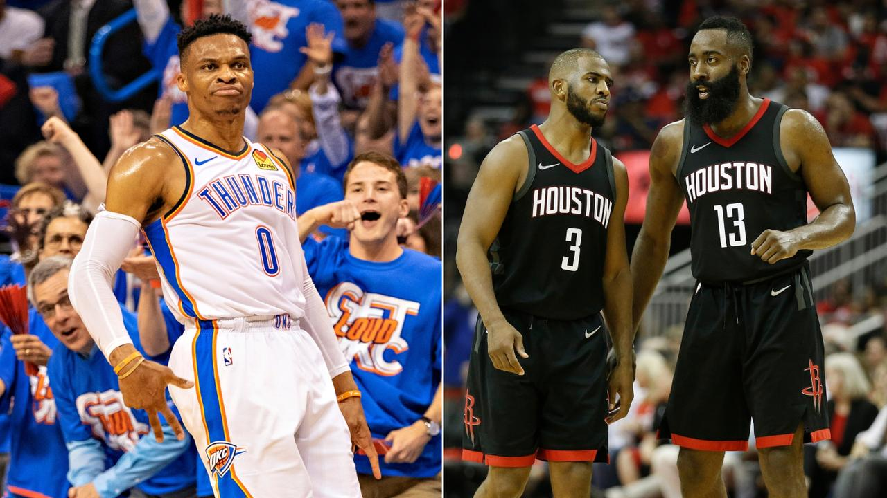 Russell Westbrook was just traded to Houston.