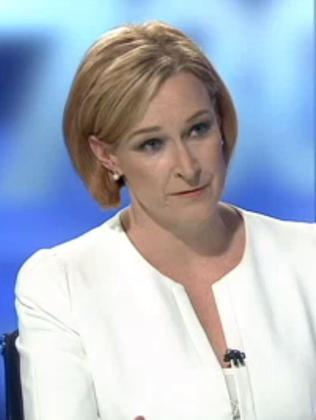 Leigh Sales. Picture: 7:30