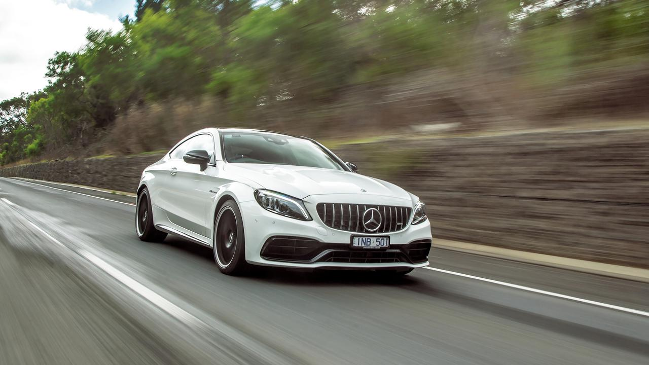 High-powered cars such as Mercedes-AMG C 63S Coupe are often driven by self-centred men according to the study.