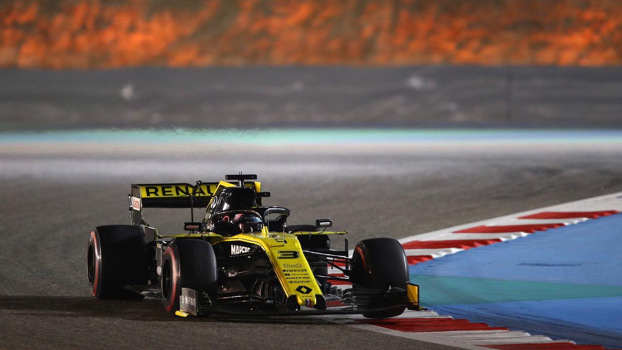 Daniel Ricciardo was forced to retire close to the end