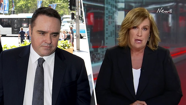 Tracy Grimshaw comments on former ACA reporter Ben McCormack (ACA)