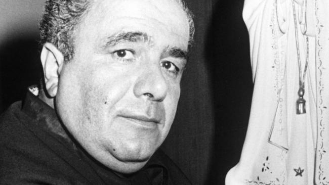 Maria James murder suspect Father Antonio Bongiorno.