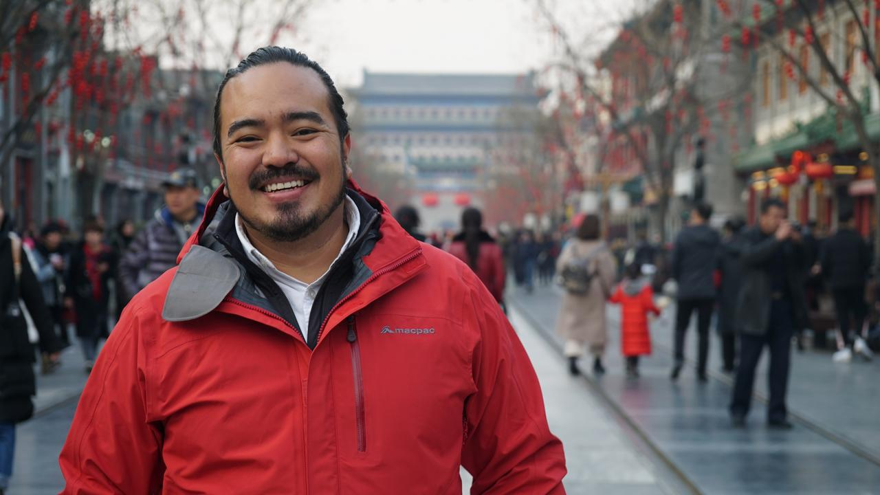Adam Liaw in SBS's Destination Flavour series. Pictures: Supplied.